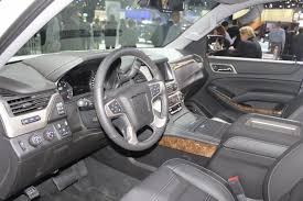 gmc yukon interior 2016 2013 la auto show live 2015 gmc yukon