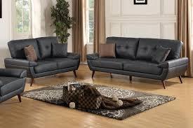 Leather Sofa Set Black Leather Sofa And Loveseat Set Steal A Sofa Furniture