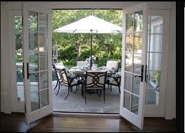 sliding glass french doors easter brunch patio outdoor area dining area doors and porch
