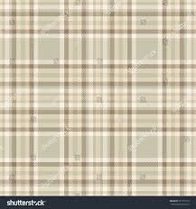Seamless Tartan Plaid Pattern Checkered Fabric Stock Vector