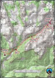 Map Of Zion National Park Hiking The Subway From The Bottom Zion West Side Road Trip Ryan