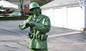 Halloween Costumes Soldier Green Toy Soldier Halloween Costume Green Halloween Contest