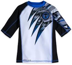 disney black panther rash guard for boys black panther clothes for