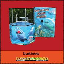 dunk tanks dunk tank rental backyard inflatables