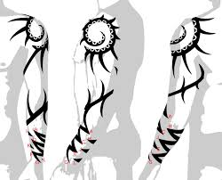 tattoo of tribal arm sleeve new beginning transformation tattoo