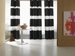 Black White Stripe Curtain Fancy Black And White Striped Curtains And Black And White Striped