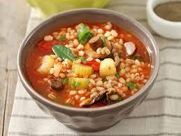 cuisine des femmes soupe rustique à l orge recipe restaurants