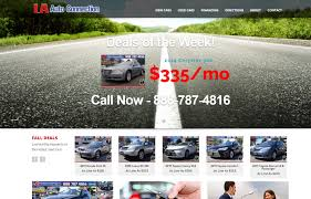 toyota corolla website ventura county web design development fivespot digital marketing
