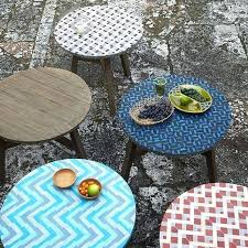 outdoor mosaic bistro table outdoor mosaic tables lemondededom com