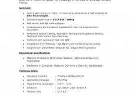 Test Engineer Sample Resume by Picturesque Manual Test Engineer Sample Resume Shining Resume Cv