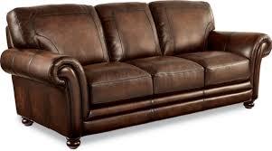 Brown Leather Sleeper Sofa Best Lazyboy Leather Sleeper Sofa 32 On High Sleeper With Sofa And