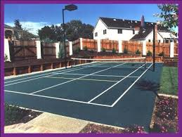 Backyard Tennis Courts Tennis Court Builders In Pa Nj And De And We Are Suppliers Of