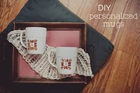 personalized mugs for wedding diy hot cocoa favors