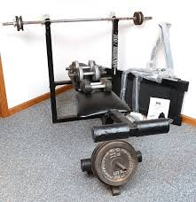 Monster Bench Marcy Monster 501 Weight Bench And A Jamz Manual Treadmill Ebth