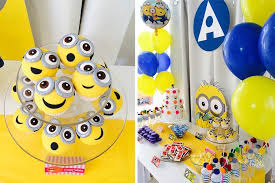 minions birthday party ideas kara s party ideas minions themed birthday party planning decor