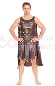 Gladiator Halloween Costume Mens Roman Warrior Gladiator Fancy Dress Costume