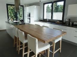 cuisine ouverte avec ilot table cuisine ouverte avec ilot table vos idées de design d intérieur