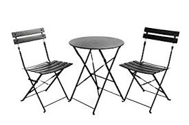Cheap Patio Sets by Amazon Com Finnhomy Slatted 3 Piece Outdoor Patio Furniture Sets