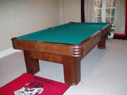 Antique Brunswick Pool Tables by Antique Specialty Tables