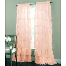 Sheer Pink Curtains White Sheer Nursery Curtains Baby Decor Chandelier Pink For