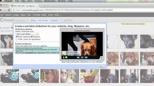 Embed Google Maps On Your Blog Or Site Blodger by Put A Picasa Slideshow On Blogger Youtube