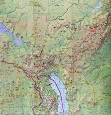 Tanzania Map Map Of Tanzania Harms Verlag U2013 Mapscompany