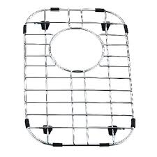 yosemite home decor 9 in x 14 in stainless steel sink grid with