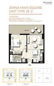 Burj Khalifa Floor Plans Floor Plans Jenna Apartments By Nshama Dubai