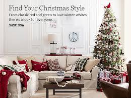Decorative Pillows At Christmas Tree Shop by Christmas Pillows U0026 Throws Pottery Barn
