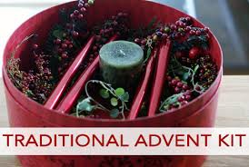 advent wreath kits 101 days of christmas traditional advent kit your way
