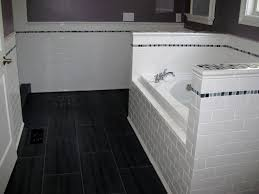 bathroom 10 astonishing black bathroom floor tile ideas