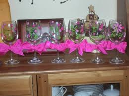 wine glass party favor top 10 diy decorations for your wine glass top inspired