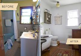 Bathroom Makeover On A Budget - lovely bathroom remodel ideas before and after with cheap before