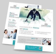 70 best free flyer psd templates designmaz on corporate