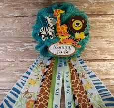 corsage de baby shower safari baby shower ideas for a boy jagl info