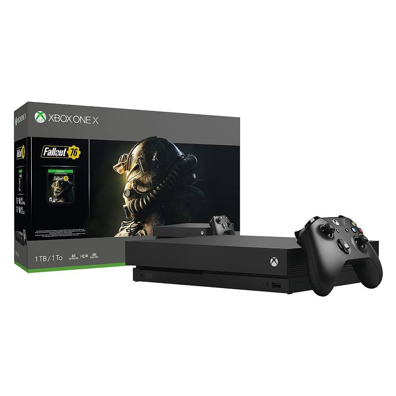 Xbox Fallout 76 Bundle with One X 1TB Console and Wireless Controller - CYV-00146