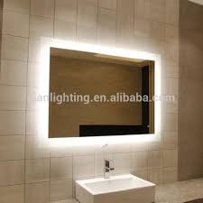 battery powered led bathroom mirror home design