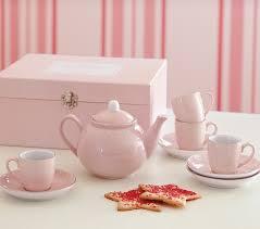 porcelain tea set pottery barn