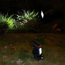 solar powered led flood lights solar multifunction flood light with ground spike suppliers and