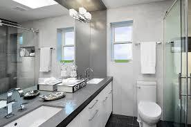 chic ceasarstone look toronto contemporary bathroom image ideas