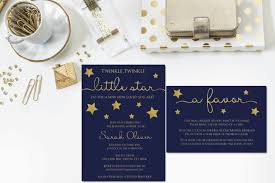 twinkle twinkle little star baby shower invitations wblqual com