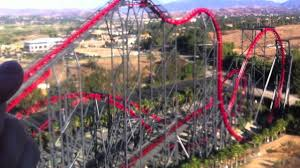 Six Flags X2 Six Flags Magic Mountain X2 U0026 Viper Youtube