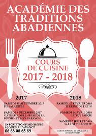 affiche atelier cuisine cours de cuisine 2017 2018 salade de poulpe mairie de