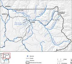Map Of Yellowstone Park Preservation Of Native Cutthroat Trout In Northern Yellowstone