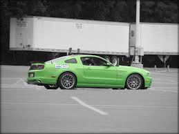 Black And Lime Green Mustang Best Mustang Colors Top 10 Mustang Colors Cj Pony Parts
