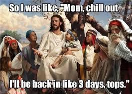 Jesus Easter Meme - happy re birthday jesus happy easter my peeps mindovermadness