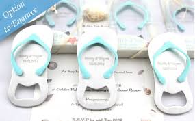wedding favors bottle opener pop the top flip flop bottle opener wedding bomboniere summer