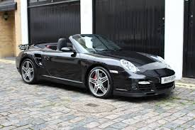 black porsche convertible used 2008 porsche 911 3 6 997 turbo cabriolet awd 2dr for sale in