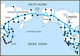 Map Of North America And Canada by Bering Strait Tunnel Project The Focus Of New Initiative