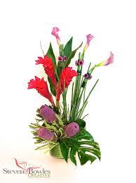 florist naples fl modern tropical floral arrangement designed by steven bowles